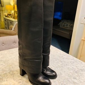 Certified Authentic Chanel Runway Boots Size 8